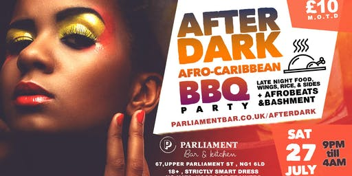 After Dark Afro-Caribbean BBQ Party