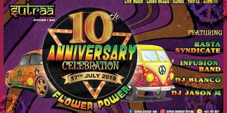 10th Year Anniversary Celebration tickets