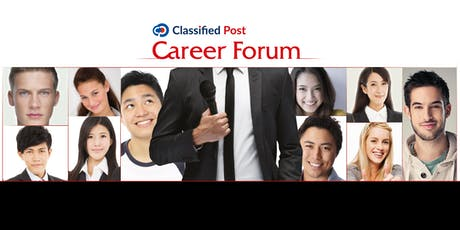 Classified Post Career Forum - 12 October 2019 tickets