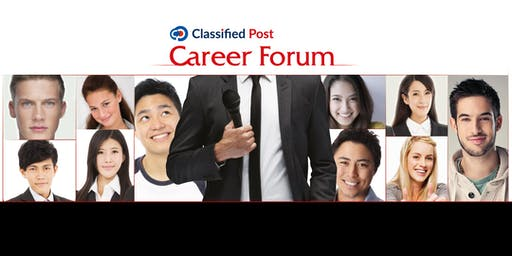 Classified Post Career Forum - 12 October 2019