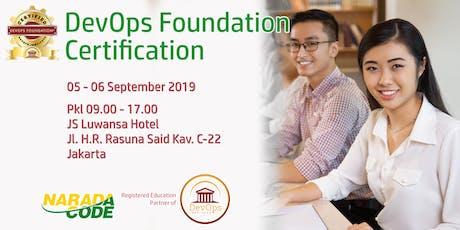 DevOps Foundation Training Jakarta, September 5th 2019 tickets