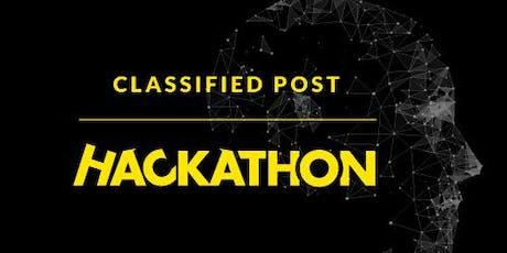 Classified Post Hackathon October 2019 tickets