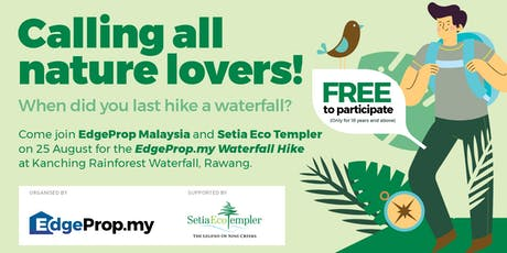 Edgeprop.my Waterfall Hike 2019  tickets