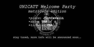 UNICATT Welcome Party (official event, matricole edition)