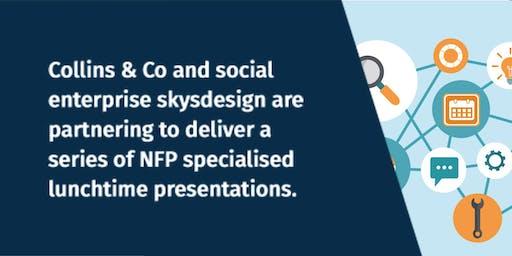 Website design success for NFPs