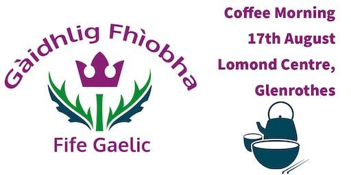 Gaelic Coffee Morning