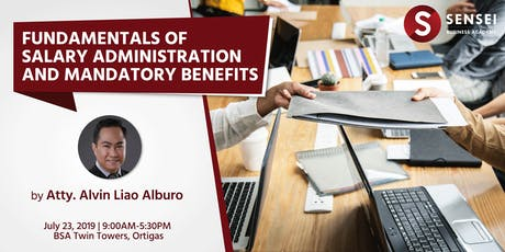 Fundamentals of Salary Administration and Mandatory Benefits tickets