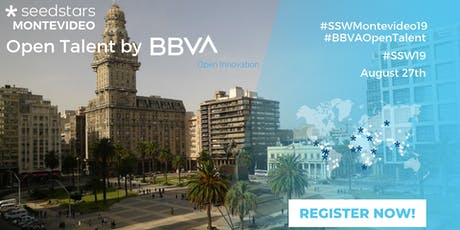 BBVA Open Talent and Seedstars Montevideo 2019 entradas