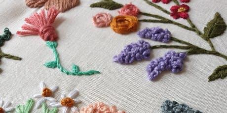 Embroidery Beginner Workshop tickets