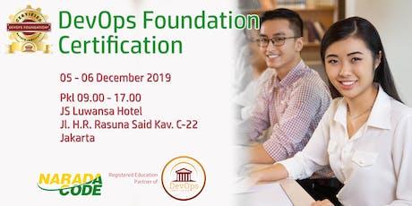 DevOps Foundation Training Jakarta, December 5th 2019 tickets