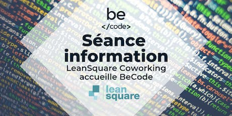 BeCode séance d'information LeanSquare tickets