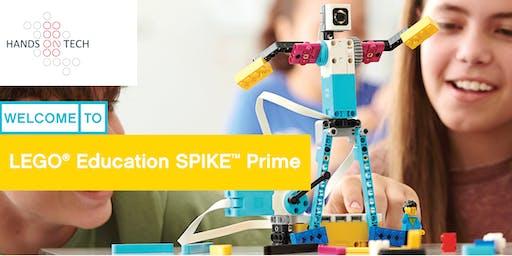 LEGO Education SPIKE Prime Demo - July - Session 1