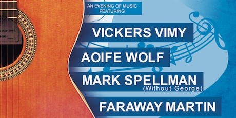 Live at the Library - Vickers Vimy, Aoife Wolf, Mark Spellman & Faraway Martin tickets