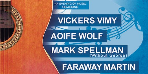Live at the Library - Vickers Vimy, Aoife Wolf, Mark Spellman & Faraway Martin