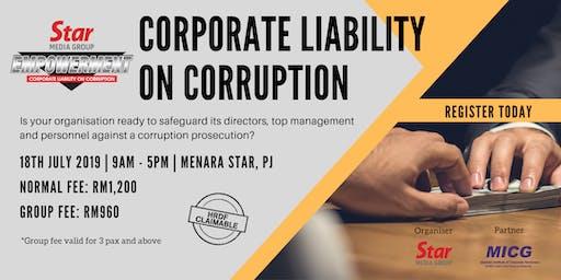 Seminar: Corporate Liability on Corruption