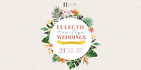 Eclectic Heritage Wedding Fair at 11 Hamilton tickets