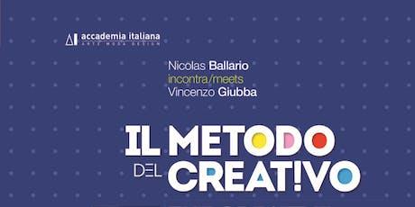 Creativity Forum:Il Metodo Creativo biglietti