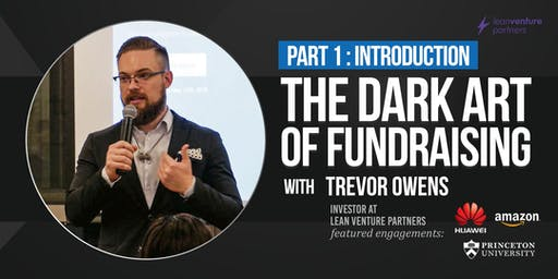 Introduction to Master Class: The Dark Art of Fundraising with Trevor Owens