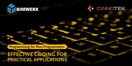 Programming for Non-Programmers: Effective Coding for Practical Applications   tickets