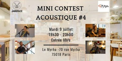 Mini-contest acoustique #4
