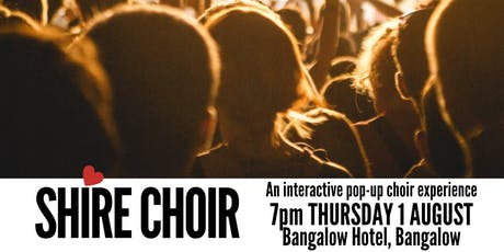 Shire Choir Bangalow - August tickets