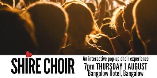 Shire Choir Bangalow - August
