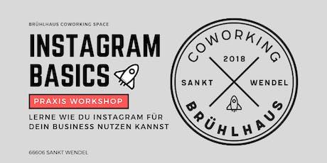 Instagram Praxis Workshop - Instagram Marketing 4 your Business Tickets