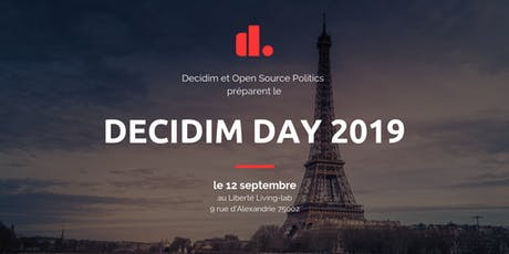 Decidim Day 2019 billets