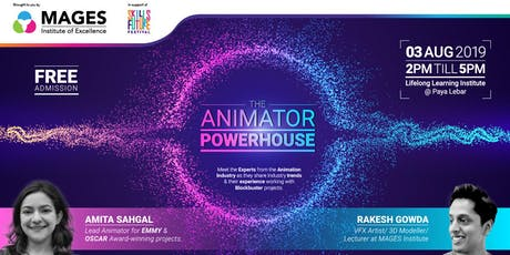 The Animator Power House tickets