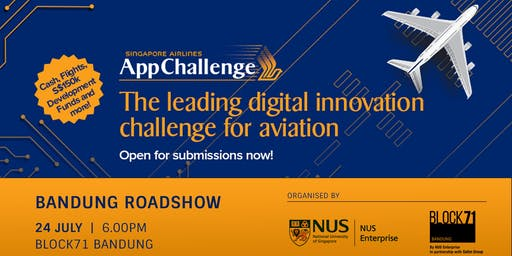 Singapore Airlines AppChallenge 2019 Roadshow Bandung