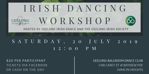 July Irish Dancing Workshop
