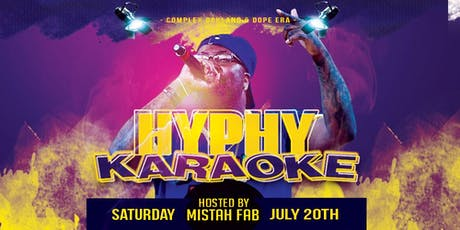 Hyphy Karaoke Hosted by Mistah Fab @ Complex Oakland tickets