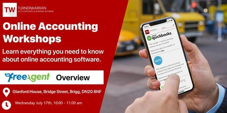Online Accouning Workshop - FreeAgent Overview tickets