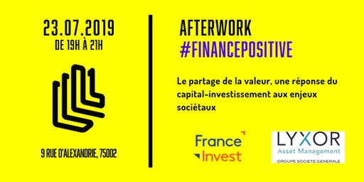 Afterwork Finance Positive - Partage de la valeur