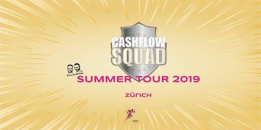 CASHFLOW SQUAD SUMMER TOUR in ZÜRICH Gruppe 1