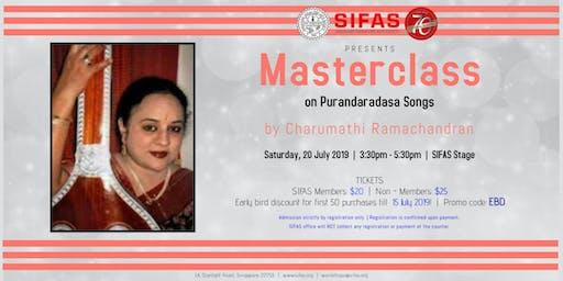 Masterclass on Purandaradasa Songs