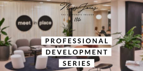 Miss Jones Professional Development Series September tickets