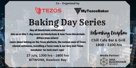 Tezos blockchain: Baking Day Series tickets