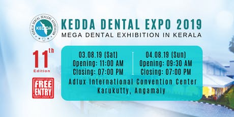 KEDDA Dental Expo 2019 tickets