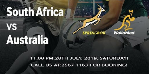 The Rugby Championship: South Africa Vs Australia
