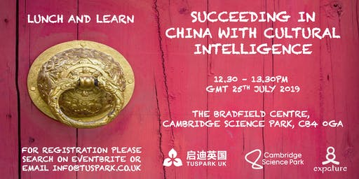 Lunch & Learn: Succeeding in China with Cultural Intelligence