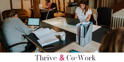 Thrive & Co-work.  The Residence, Newport (September Date)