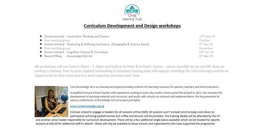 Primary Curriculum Development and Design Workshops