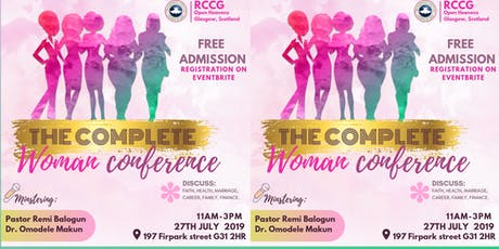 THE COMPLETE WOMAN CONFERENCE tickets