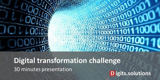 Presentation of the Digital transformation challenge for Company