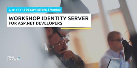 Workshop Identity Server for ASP.NET Core developers entradas