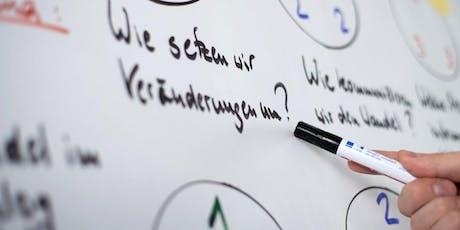 Wie entwickeln Non-Profit-Organisationen erfolgreich Strategien? Tickets
