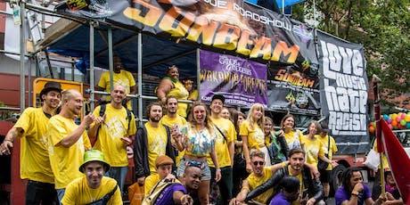 Notting Hill Carnival Registration: LoveMusicHateRacism x NEU x Smokey Joe Roadshow in the parade  tickets