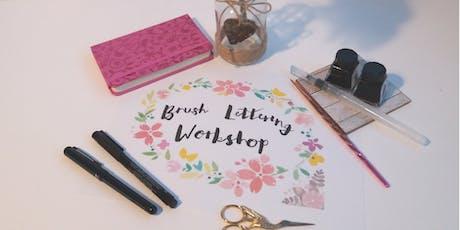 Modern Brush Lettering Workshop tickets