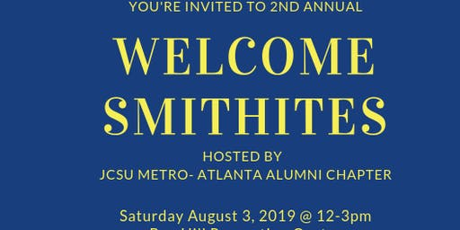 2nd Annual Welcome Smithites Social